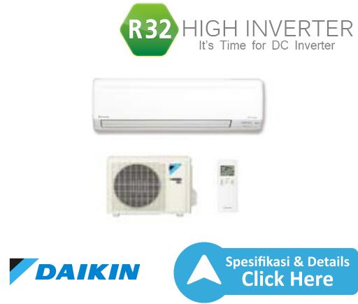 ac split daikin - dealer resmi ac daikin - ac daikin inverter high r32