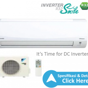 ac split daikin - dealer resmi ac daikin indonesia- ac inverter smile r32