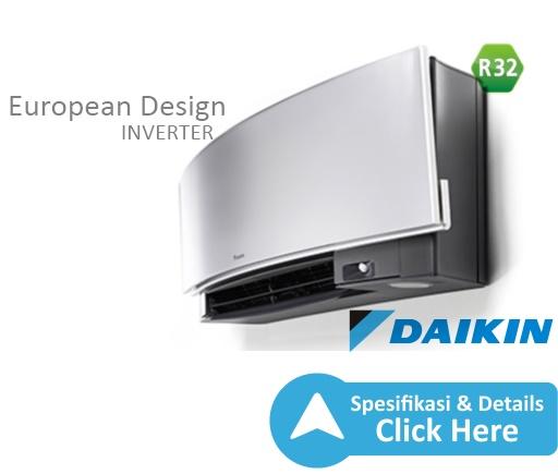 ac split daikin - european design - ac inverter daikin terbaik