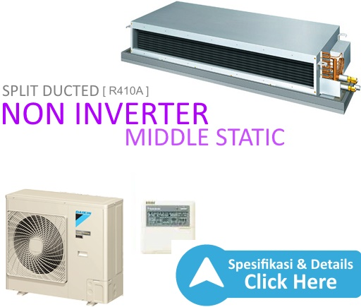 ac split duct daikin - split duct non inverter daikin