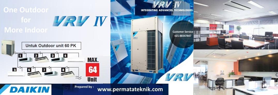 vrv iv daikin - dealer resmi ac daikin indonesia di bekasi - permatateknik