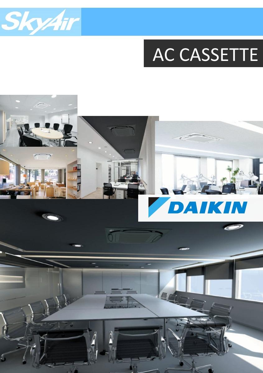 Daikin SkyAir Gallery footer