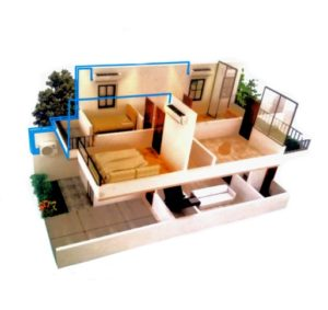 ac multi s daikin - ac 3 indoor 1 outdoor - inverter