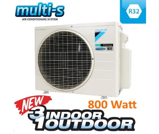Ac Split Multi S Inverter R32 3 Koneksi Tipe 50 Outdoor 2