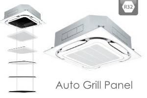 AC Cassette Daikin Inverter R32 - Auto Grill Panel 300x200
